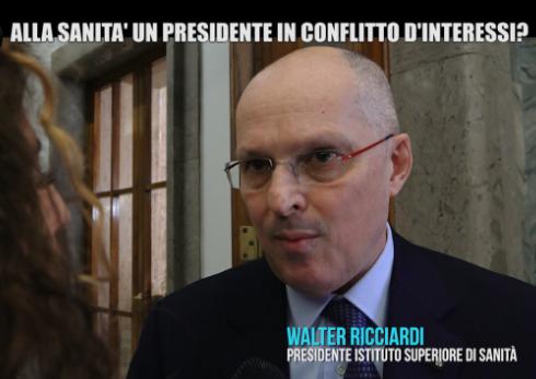 """Il """"caso Ricciardi"""" sul The Bmj: il Presidente dell'Istituto Superiore di Sanità è in conflitto d'interessi?"""